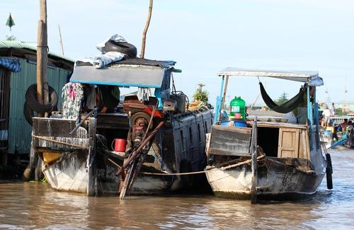 Vietnam. Mekong Delta's Floating Food Market. | The Incidental Tourist