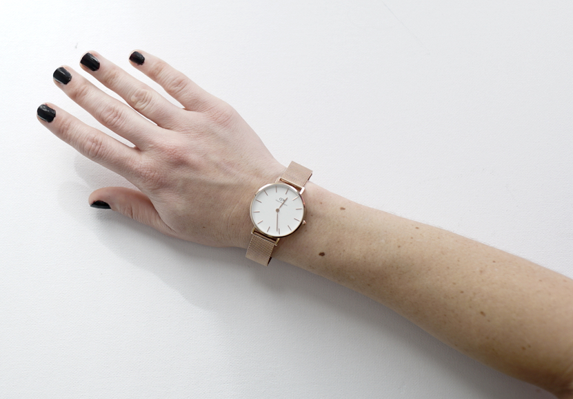06ba0bb5b063 Daniel Wellington adds a tinge of rose gold to my world.