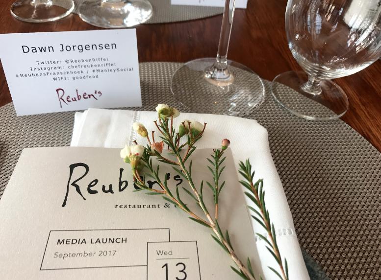 Reuben's Franschhoek