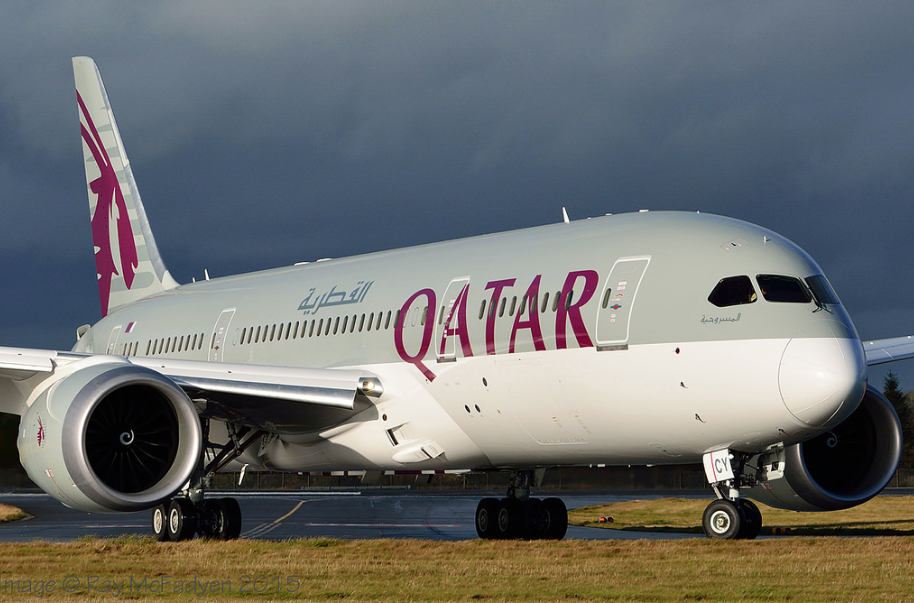 Qatar Airways by Raymond McFadyen