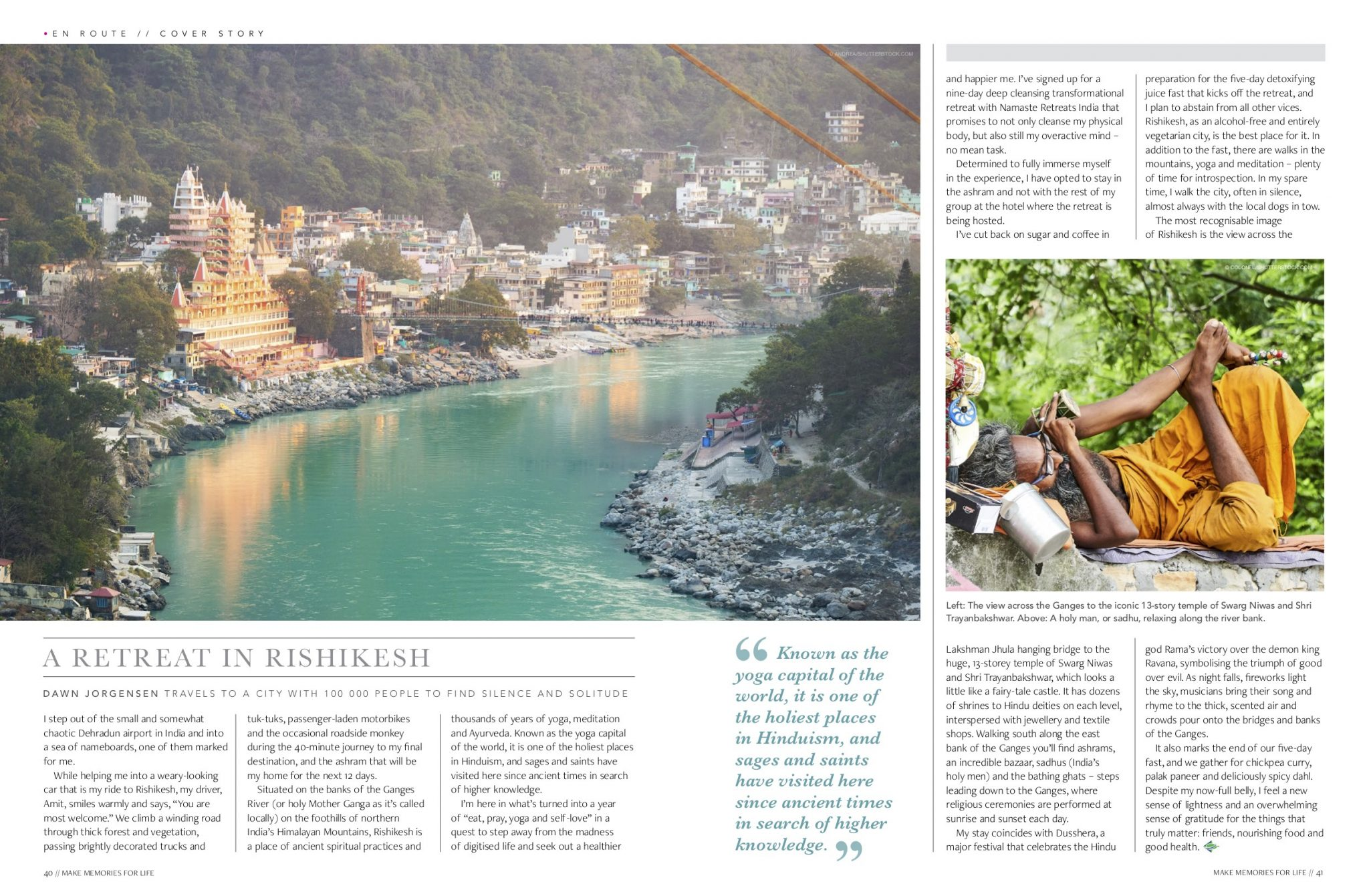 A retreat in Rishikesh, India  | The Incidental Tourist