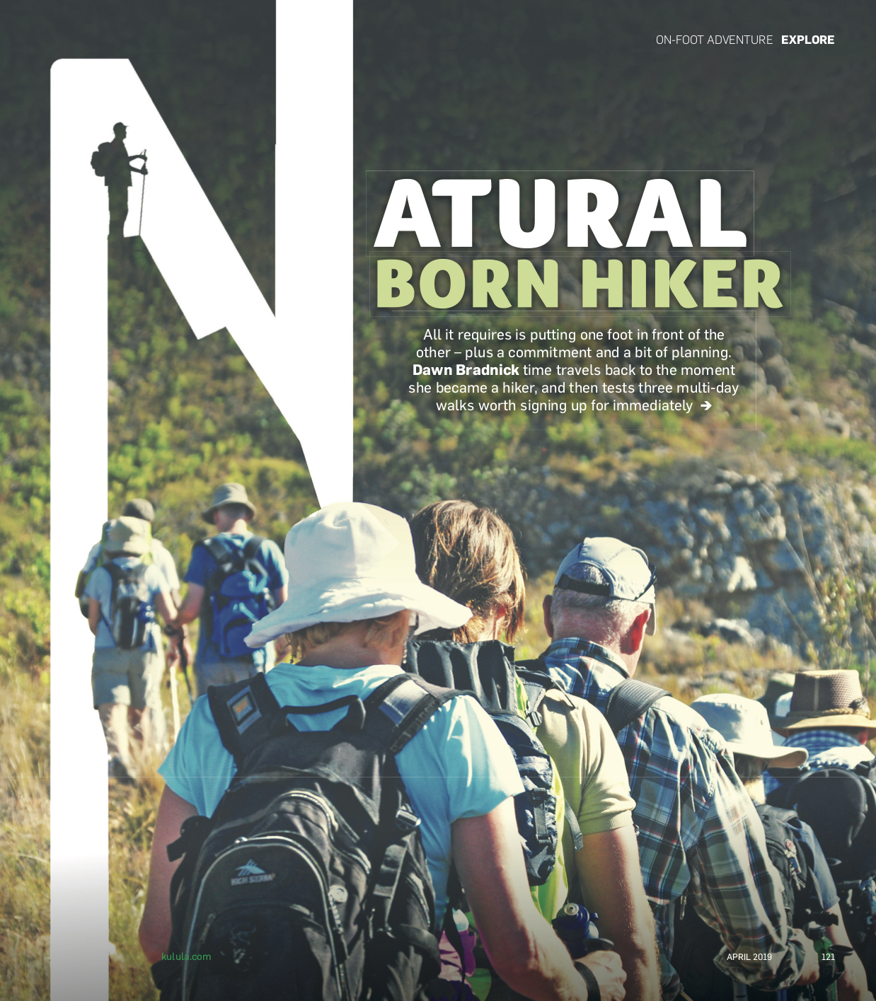 khuluma Natural Born Hiker